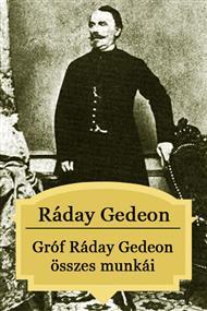 Gróf Ráday Gedeon összes munkái