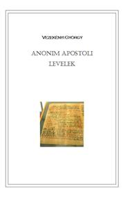 Anonim apostoli levelek